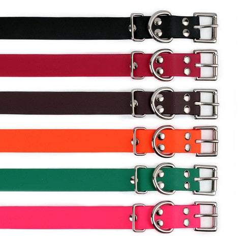 1 Inch Biothane Buckle Collars