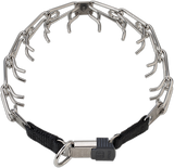 Herm Sprenger Stainless Steel Prong Collars with ClicLock Buckle