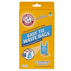Easy-Tie Waste Bags Arm & Hammer 75Ct