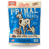 Primal Freeze-Dried Beef Liver Munchies
