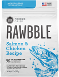 Bixbi Rawbble Freeze Dried Salmon and Chicken Dog Food