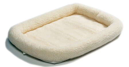 Quiet Time Beds: Natural Fleece Crate / Kennal Bed Mat