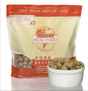 Steve's Real Food - Freeze Dried Pork 1.25lb