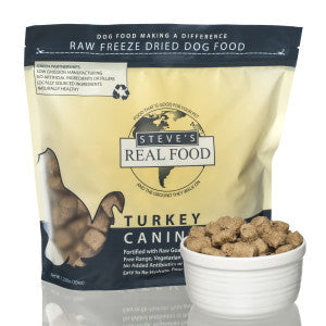 Steve's Real Food - Freeze Dried Turkey 1.25lb