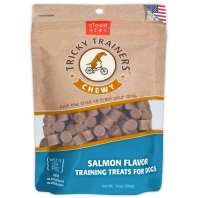 Chewy Tricky Trainers Dog Treats: Salmon