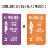 Honest Kitchen - Beams® Ocean Chews - Cod Fish Skins