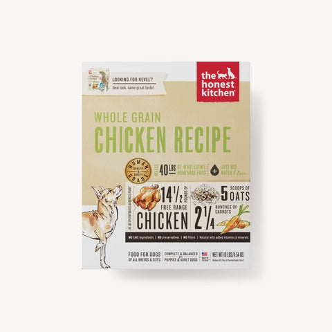 Honest Kitchen - Revel - Whole Grain Chicken Dog Food