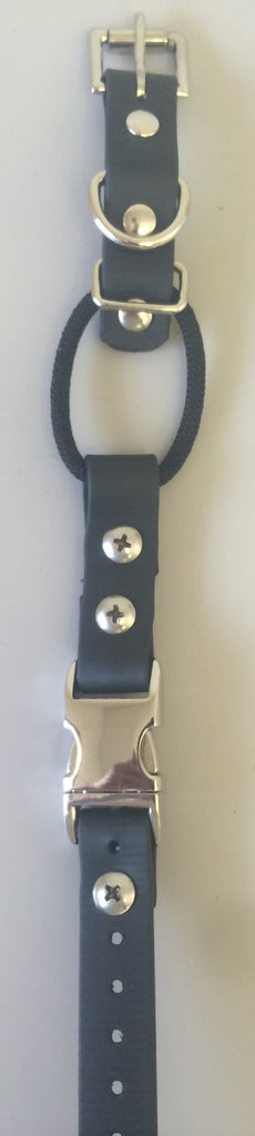 Biothane Buckle Collar With Bungee