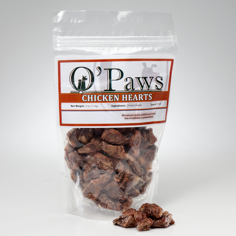 O'Paws Chicken Hearts