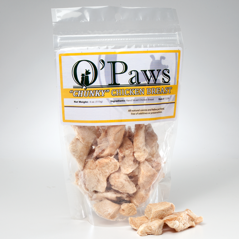 O'Paws Chicken Breast Chunks