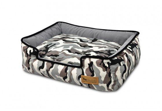 Camouflage Lounge Dog Bed - P.L.A.Y.