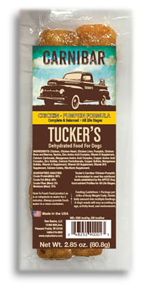 Tuckers Carnibar Chicken- Pumpkin Formula