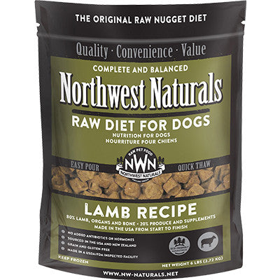 Northwest Naturals Dog Freeze Dried Lamb Nuggets 12oz