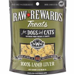 Northwest Naturals Dog Freeze Dried Lamb Liver 3oz