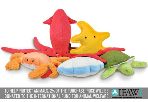 Under the Sea Plush Stuffed Dog Toy by P.L.A.Y.