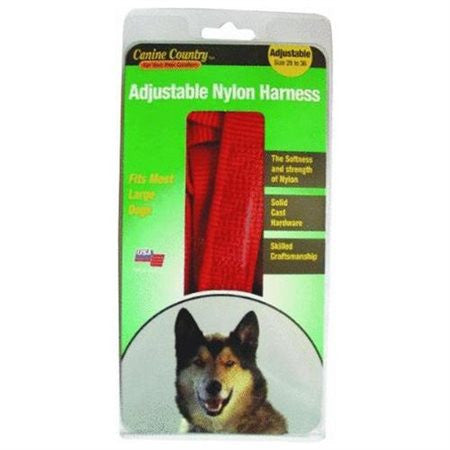 Adjustable Nylon Dog Harness - 20-28""