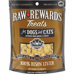 Northwest Naturals Dog Freeze Dried Bison Liver 2.5oz