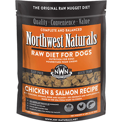 Northwest Naturals Dog Freeze Dried Chicken & Salmon Nuggets 12oz