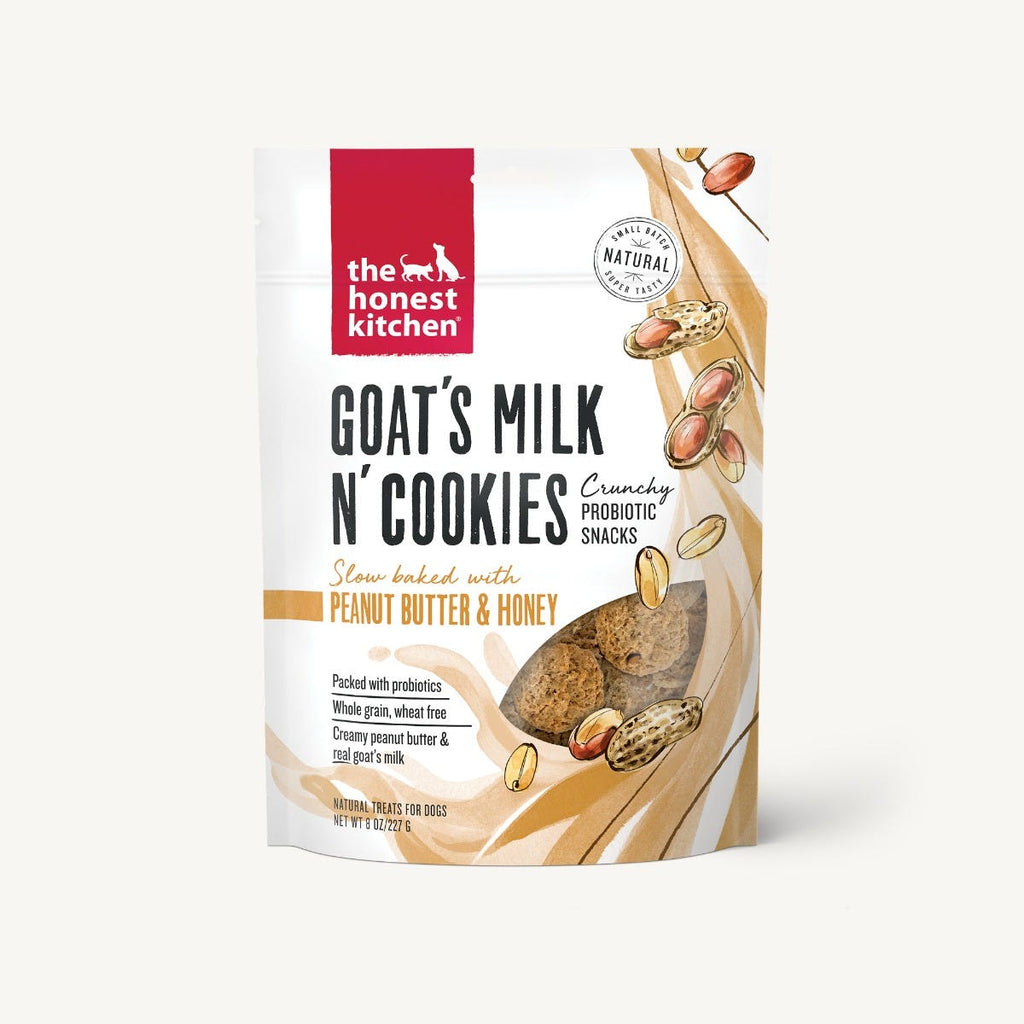 Goat's Milk N' Cookies - Slow Baked with Peanut Butter & Honey
