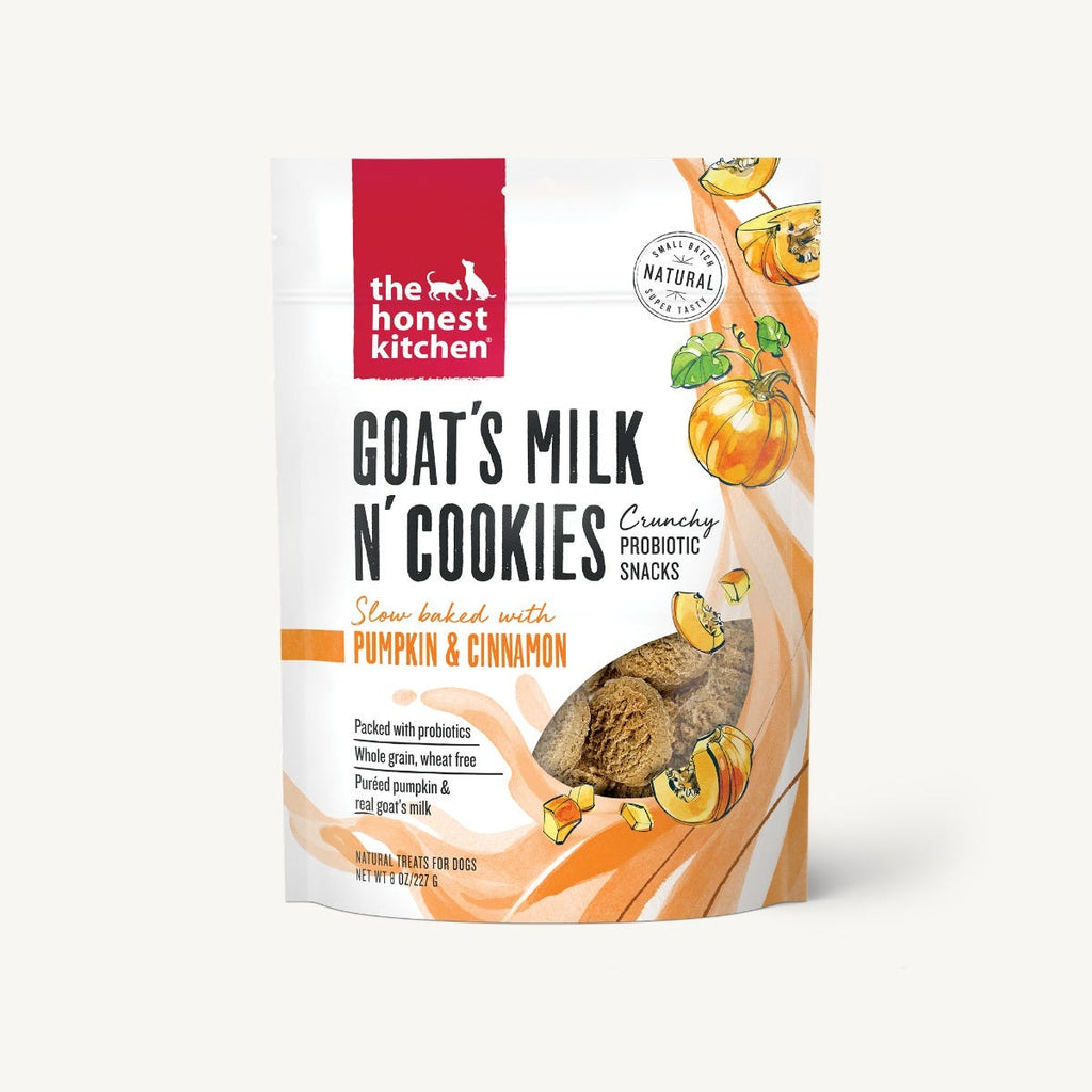 Goat's Milk N' Cookies - Slow Baked with Pumpkin & Cinnamon