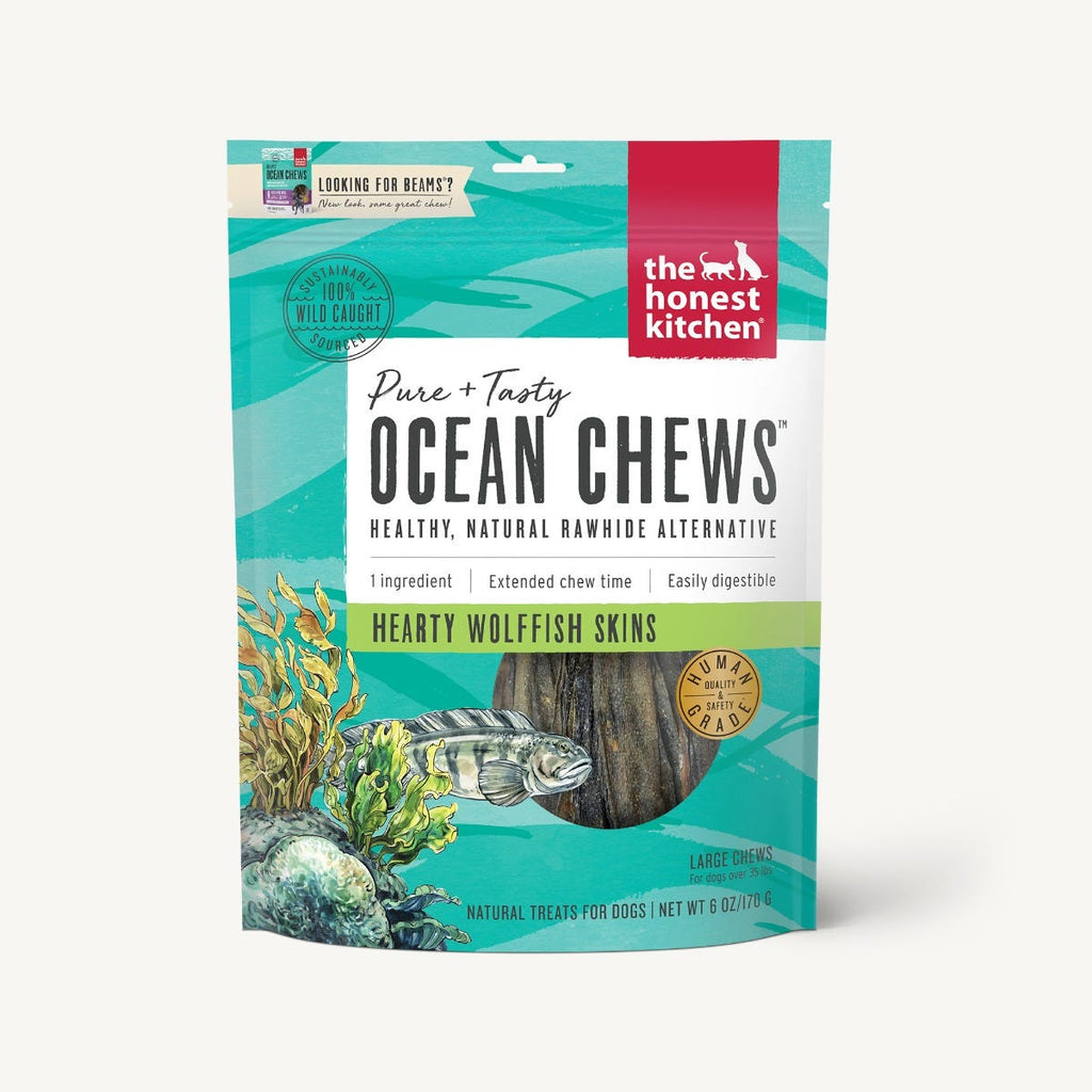 Honest Kitchen - Beams® Ocean Chews - Wolffish Skins