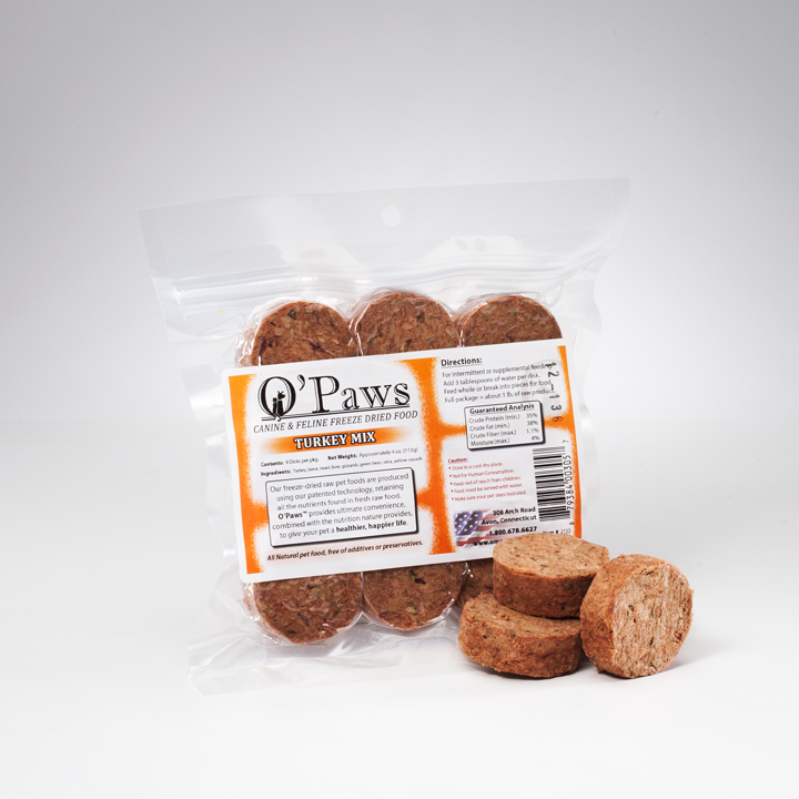 O'Paws Turkey Mix 9-Pack