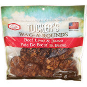 Tucker's Wag-a-Rounds Liver & Bacon Treat 6oz