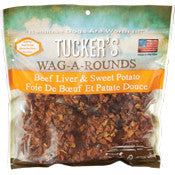 Tucker's Wag-a-Rounds Liver & Sweet Potato Treat 6oz