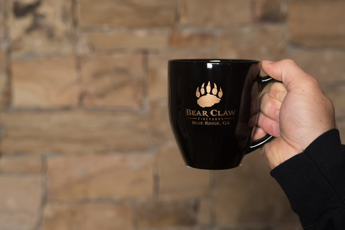 Coffee Mug with Bear Claw logo