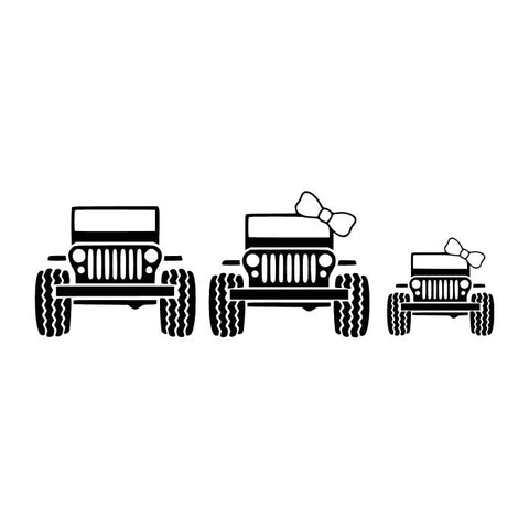 Jeep Family of Three
