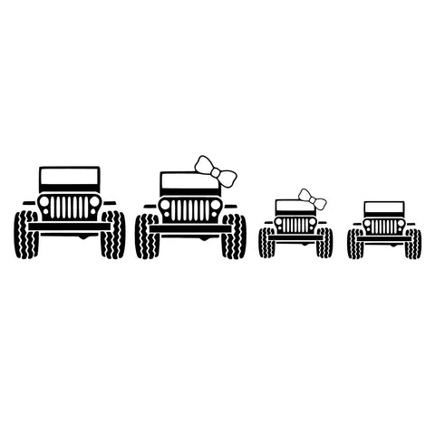 Jeep Family of Four