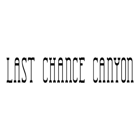 Last Chance Canyon Trail Badge
