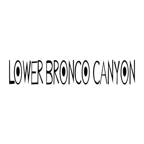 Lower Bronco Canyon Trail Badge