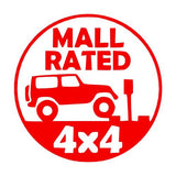 Mall Rated Trail Badge