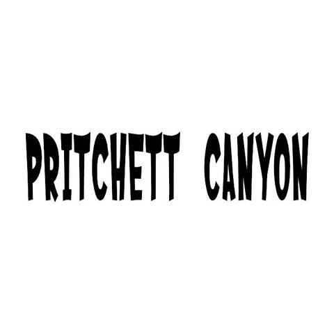 Pritchett Canyon Trail Badge