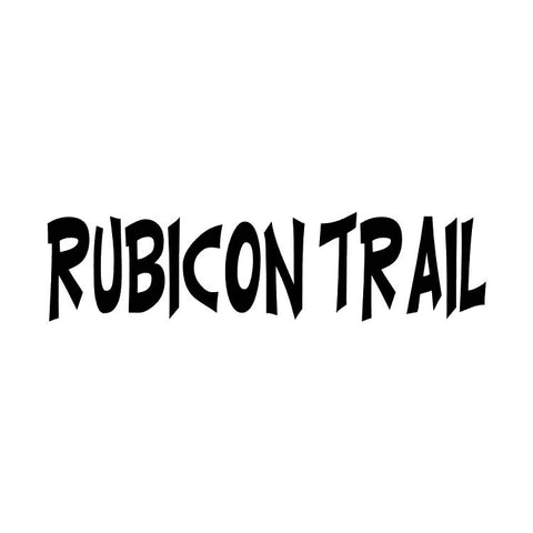 Rubicon Trail Badge