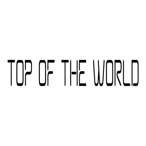 Top of the World Trail Badge
