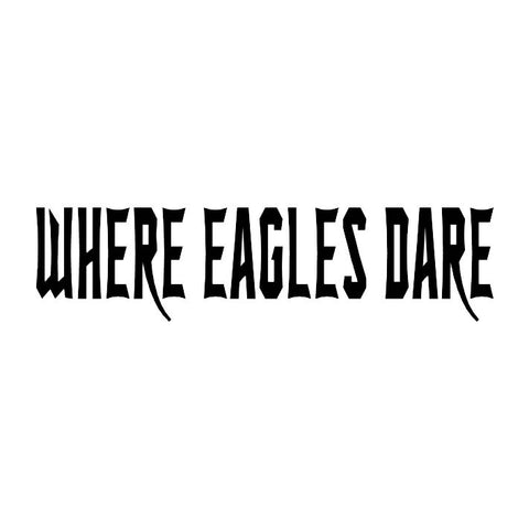 Where Eagles Dare Trail Badge