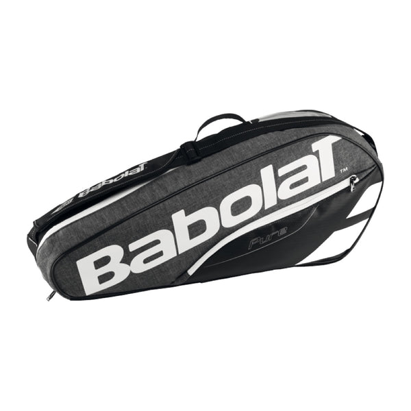 Babolat Pure Grey 3 pack tennis bag 150919 - VuTennis