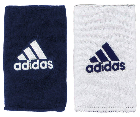 Adidas Interval Reversible Large Wristbands - Navy/White 5133929