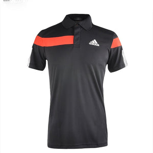 Adidas Men's Polo Barricade - Black/White G69299 - VuTennis