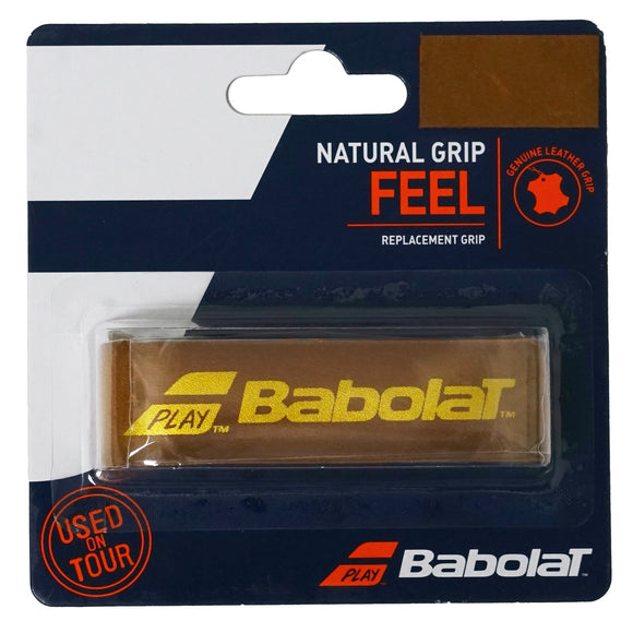 Babolat Natural Leather tennis replacement grip - VuTennis