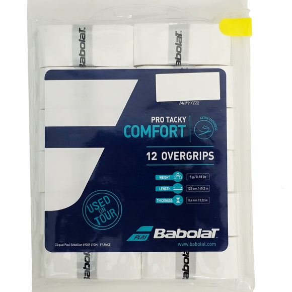 Babolat Pro Tacky 12-pack tennis overgrip