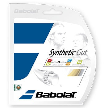 Babolat Synthetic Gut 16 17 tennis string set