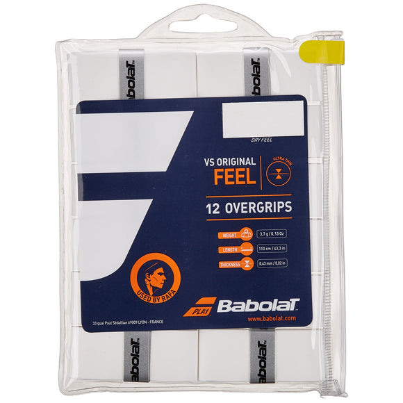 Babolat VS Original 12-pack tennis overgrip - VuTennis