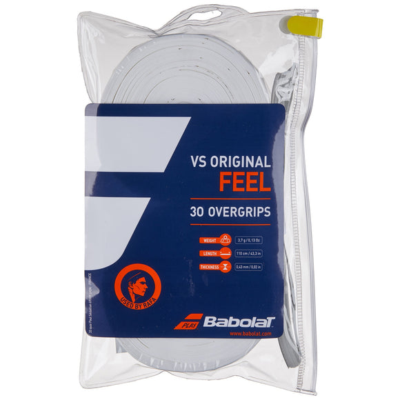 Babolat VS Original 30-pack tennis overgrip - VuTennis