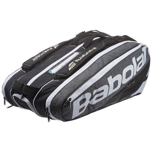 Babolat Pure Grey 9 pack tennis bag 150915 - VuTennis