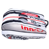 Babolat Pure Strike White/Black/Red 12 pack tennis bag 173915 - VuTennis