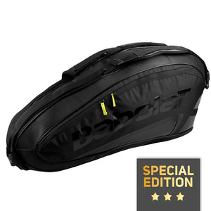 Babolat Pure Black Limited 6 pack tennis bag - VuTennis