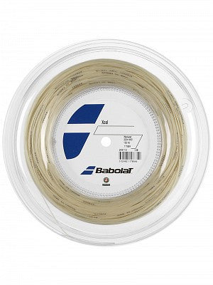 Babolat Xcel Premium reel natural color + Free Natural Gut string